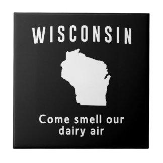 Wisconsin kommen Geruch unsere Molkereiluft Keramikfliese