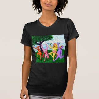 Wisconsin-Kühe, die scherzen T-Shirt