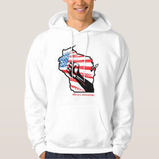 Wisconsin-Protest-Shirt Hoodie