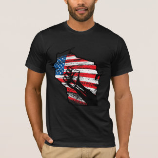 Wisconsin-Protest-T - Shirt