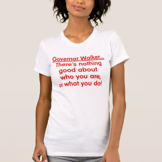 Wisconsin-Protest T-Shirt
