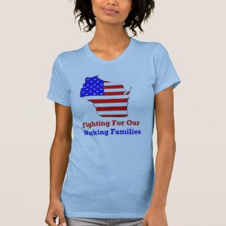 Wisconsin protestiert Shirt