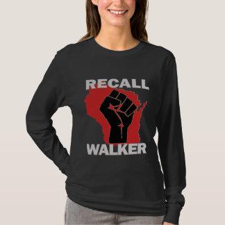 Wisconsin-Rückruf-Wanderer T-Shirt