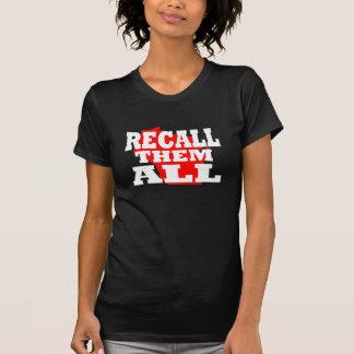 Wisconsin rufen sie alle zurück T-Shirt