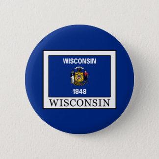 Wisconsin Runder Button 5,1 Cm