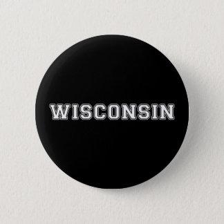 Wisconsin Runder Button 5,7 Cm