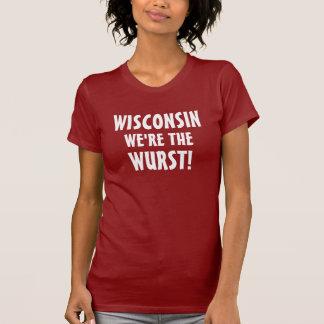 Wisconsin, sind wir der Wurst T-Shirt