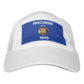 Wisconsin-Staats-Flaggen-Entwurf Headsweats Kappe
