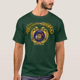 Wisconsin vereinigte T-Shirt