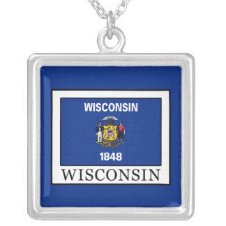 Wisconsin Versilberte Kette