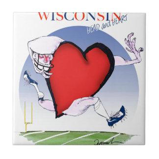 Wisconsinhauptherz, tony fernandes fliese
