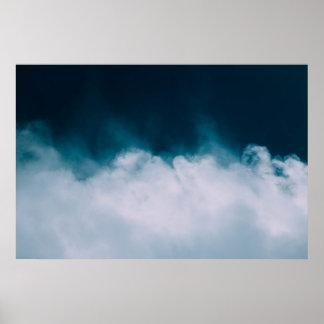 Wispy Wolken Poster