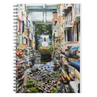 Wissen ist Power-Notizbuch Spiral Notizblock