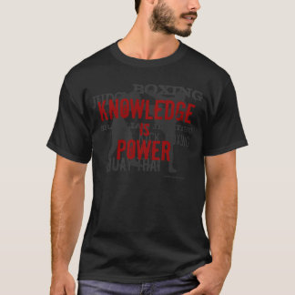Wissen ist Power T-Shirt