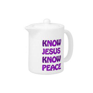 Wissen Sie, dass Jesus Frieden kein Jesus kein