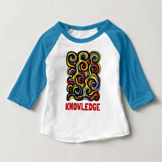"""Wissens-"" Baby3/4 Raglan-T - Shirt"