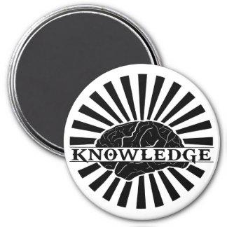 """Wissens-""""gesprengter"""" Magnet Runder Magnet 7,6 Cm"""