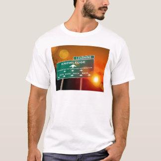 Wissens-Landstraßen-Zeichen T-Shirt