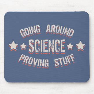 Wissenschaft, die Material prüft Mousepad