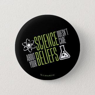 Wissenschaft interessiert sich nicht runder button 5,1 cm
