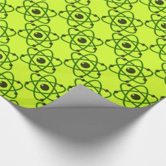 Wissenschaft ist cooler grüner geschenkpapier