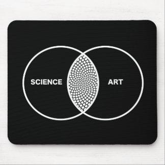 Wissenschaft/Kunst Venn Diagramm Mauspads