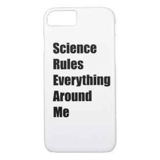 Wissenschaft ordnet alles um mich an iPhone 8/7 hülle