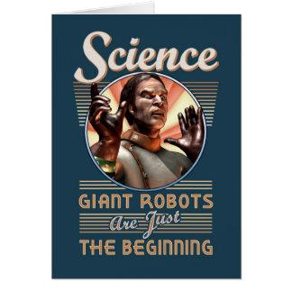 Wissenschaft: Riesige Roboter sind gerade der Karte