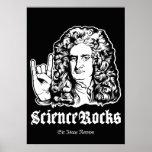 Wissenschaft schaukelt Plakat Sir-Isaac Newton