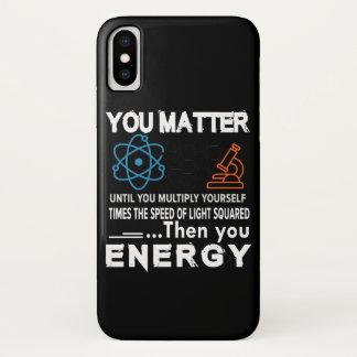 Wissenschaft sind Sie bis sich multiplizieren von iPhone X Hülle