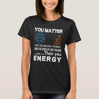 Wissenschaft sind Sie bis sich multiplizieren von T-Shirt