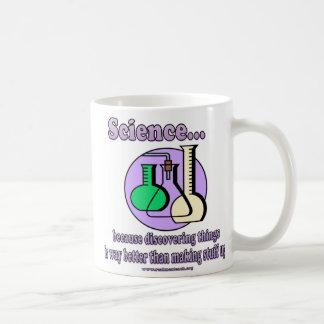 Wissenschaft - verbessern Sie als, Material Kaffeetasse