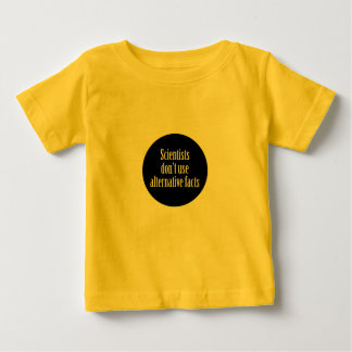 Wissenschaftler tun nicht wir alternative baby t-shirt