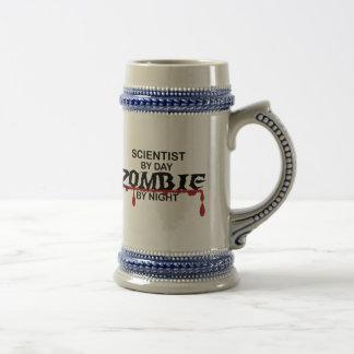 Wissenschaftler-Zombie Bierkrug