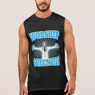 Wissenschafts-Anbetungs-lustige Aussenseiter u. Kurzarm T-Shirts