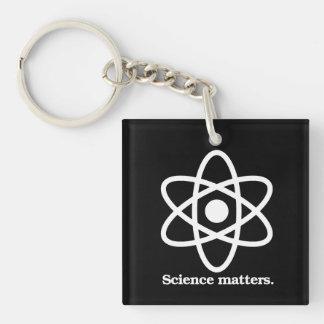 Wissenschafts-Angelegenheiten - Schlüsselanhänger