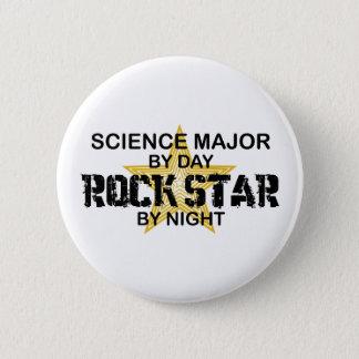 Wissenschafts-bedeutender Rockstar bis zum Nacht Runder Button 5,1 Cm