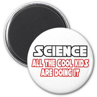 Wissenschafts-… coole Kinder Runder Magnet 5,1 Cm