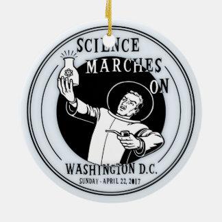 Wissenschafts-März an Keramik Ornament