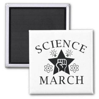 Wissenschafts-März Quadratischer Magnet