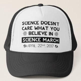 Wissenschafts-März Truckerkappe