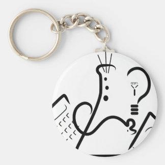 Wissenschafts-Messe-Logo Schlüsselanhänger