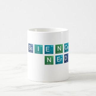 Wissenschafts-Nerd-Element-Tasse Kaffeetasse