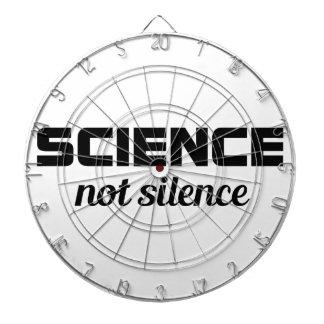Wissenschafts-nicht Ruhe Dartscheibe