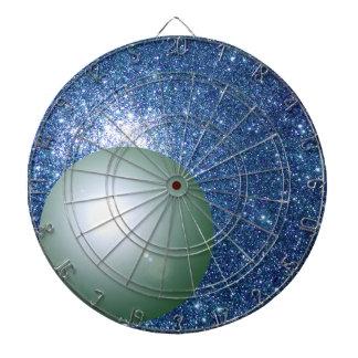 Wissenschafts-Planeten-Raum STAMM schießt Geeky Dartscheibe