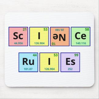 Wissenschafts-Regeln Mousepad