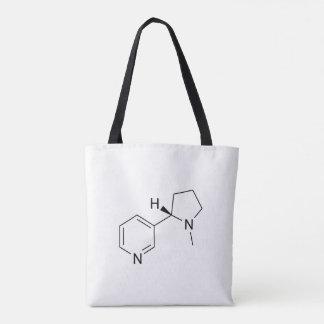Wissenschaftssymbolelemente der chemischen Formel Tasche