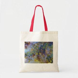 Wisteria durch Claude Monet, Vintager Tragetasche