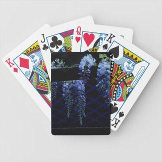 Wisteria-Nachtspielkarte-Blumen-Geschenke Bicycle Spielkarten