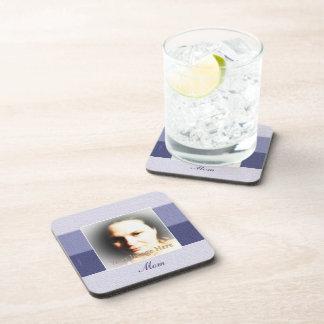 Wisteria-Purpur lila Ombre Stripes das bereite Cocktail Untersetzer